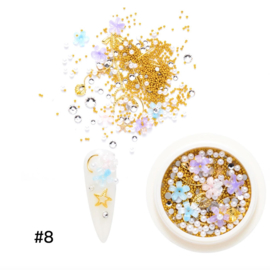 resin flower mix nr. 8