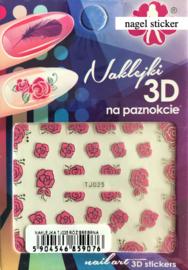 nagel sticker TJ025