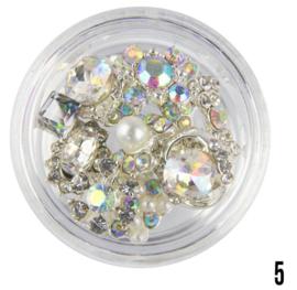nagel sieraad (zilver 5)