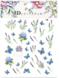 5D sticker FDT-18