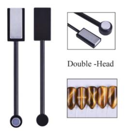 cateye magneet met dubbele kop (2 stuks)