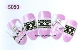 nagel sticker S050 black&white