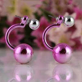 double pearl pink earrings (vanaf 25 euro aan artikelen - EXCLUSIEF verzendkosten)