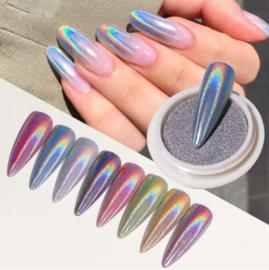 magic holographic chrome powder