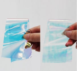 aurora foil set 5 stuks (in zakje) transparant