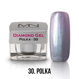 gel 30 polka diamond