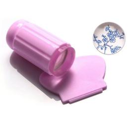 luxe stempel pink (doorkijk)