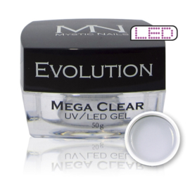 Builder gel Evolution Mega Clear 50 gram (MN)
