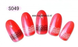 nagel sticker S049
