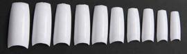 nageltips half well white modern 500 stuks
