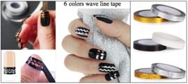 voorbeeld wave line tape