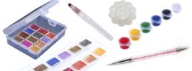 aquarel pigment paint set de luxe
