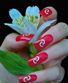 smart nails sjabloon 16