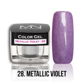 gel 28 metallic violet