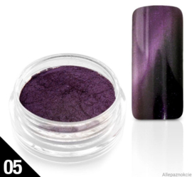 cateye powder purple 05