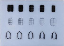 siliconen mat  maat S (2)