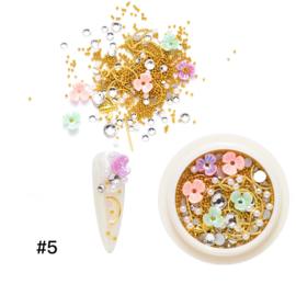 resin flower mix nr. 5