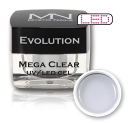 Builder gel Evolution Mega Clear 4 gram MN