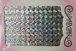 swirl holo zilver
