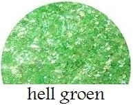 cracked ice flakes hell groen