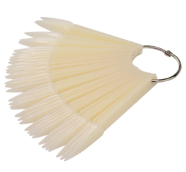display hanger stiletto clear of natural