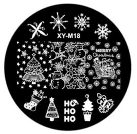 kerst plate XY-M18