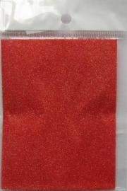 glitter papier  lt red (nr.4)