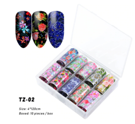 transferfolie box flowers 02