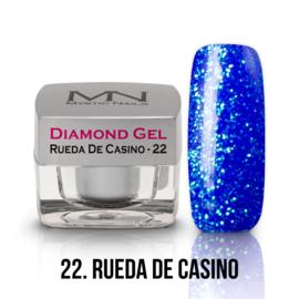 gel 22 rueda de casino diamond