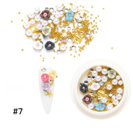 resin flower mix nr. 7