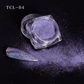 magic laser chrome pigment purple 04