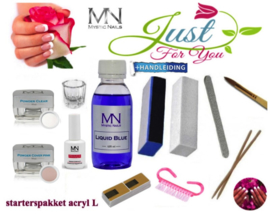 acrylnagel set met sjablonen Mystic Nails