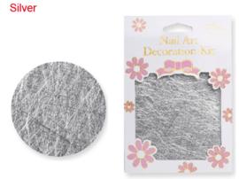 line net art zilver