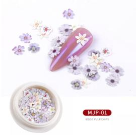 nail art flowers MJP 01