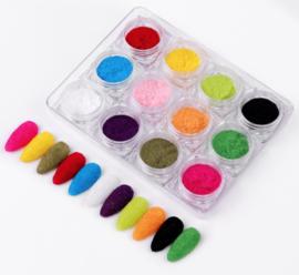 velvet box 12 kleuren