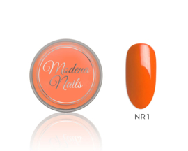 color acryl neon orange nr. 1 - 10ml