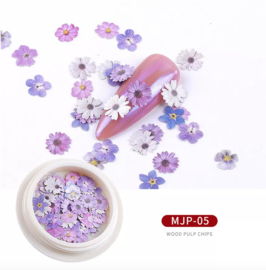 nail art flowers MJP05