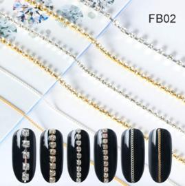 inlay ketting FB02