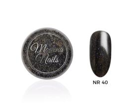 color acryl black nr. 40 - 10ml
