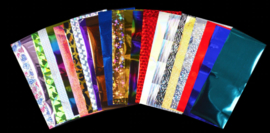 transferfolie set 24 stuks mixed design