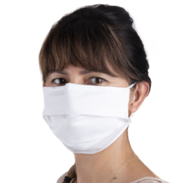 katoenen mondmasker 2 stuks herbruikbaar (vanaf 25 euro aan artikelen - EXCLUSIEF verzendkosten)