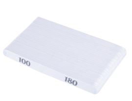 nagelvijl recht 100/180 gritt 25 stuks hoge kwaliteit