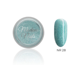 color acryl glitter ocean nr. 28 - 10ml