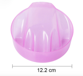 manicure bowl pink
