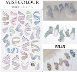 sticker miss colour 343