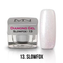 gel 13 slowfox diamond