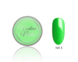 color acryl neon green nr. 3 - 10ml
