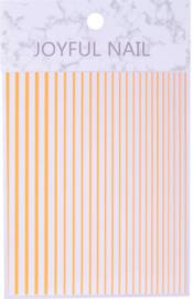 flexible stripes fluor orange