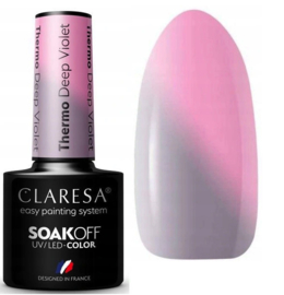 color changing thermo gellak deep violet