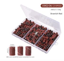 schuurrolletjes #80-#120-#180 in box